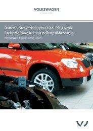 Prospekt Batterie-Steckerladegerät VAS 5901A - Akkuteam ...