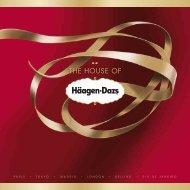 THE HOUSE OF - Häagen-Dazs
