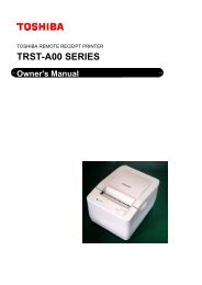 Owner's Manual - Toshiba