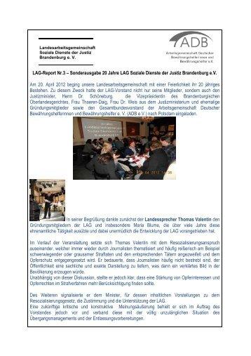 2012-05 LAG-Report Nr 3-12 - Arbeitsgemeinschaft deutscher ...
