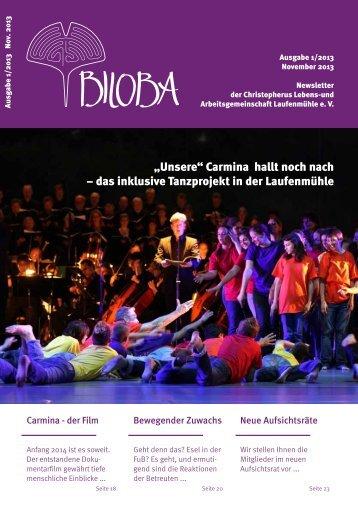 November-Ausgabe 2013 - Christopherus / Lebens- und ...
