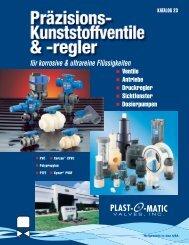 Catalog 23.qxp - Plast-O-Matic Valves, Inc