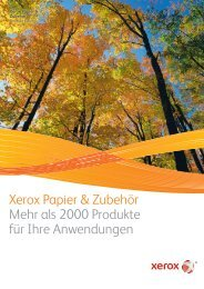 Xerox Papier & Zubehör - xerox supplies-center
