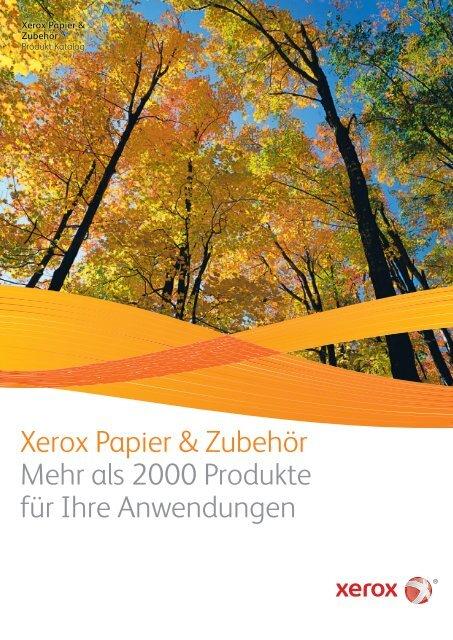 Xerox Papier & Zubehör - xerox supplies-center