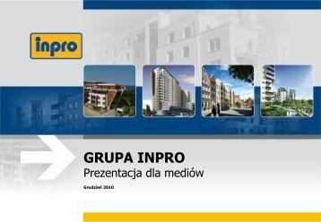 Prezentacja dla mediów - Inpro