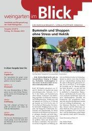 Ausgabe 23/2013 - Weingarten im Blick