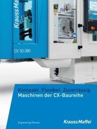 Maschinen der CX-Baureihe - KraussMaffei