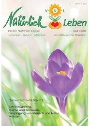 Themenschwerpunkte: Der Neuanfang, Keime und Sprossen ...