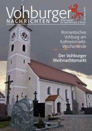 Oktober/November 2013 - Stadt Vohburg