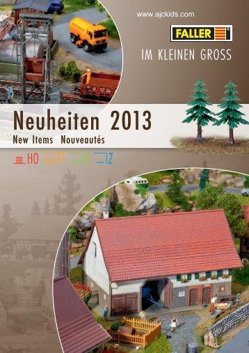 FALLER Neuheiten 2013