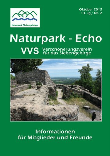 Naturparkecho 2/2013 - Naturpark Siebengebirge