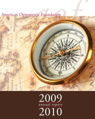 aofannual - American Academy of Optometry