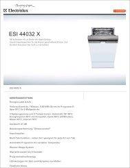 ESI 44032 X