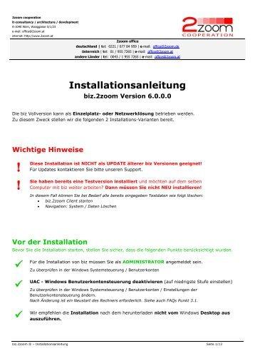 biz.2zoom Warenwirtschaft Software, Warenwirtschaft ...