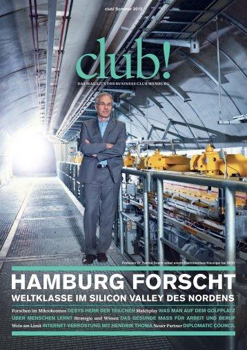 """Clubmitglieder zum Thema """"Hamburg forscht"""" - Business Club ..."""