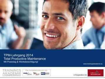 TPM-Lehrgang 2014 - Dankl + Partner Consulting GmbH