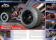 Yamaha Raptor Tuning - ATV & QUAD Magazin