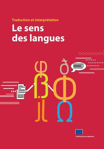 Traduction et interprétation Le sens des langues - EU Bookshop ...