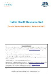 Current Awareness Bulletin December 2011
