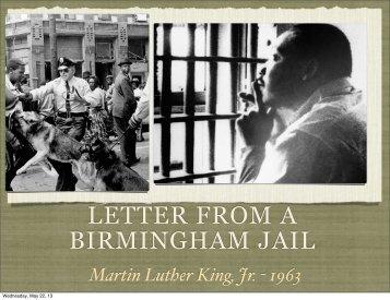 letter from birmingham jail 2