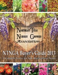 Buyer's Guide - NorthEast Texas Nursery Growers Association