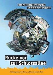 Broschüre des Mietshäuser Syndikats - gruen8.de