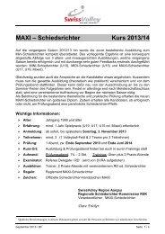 MAXI-Schiedsrichter - Regionaler Volleyballverband Aargau