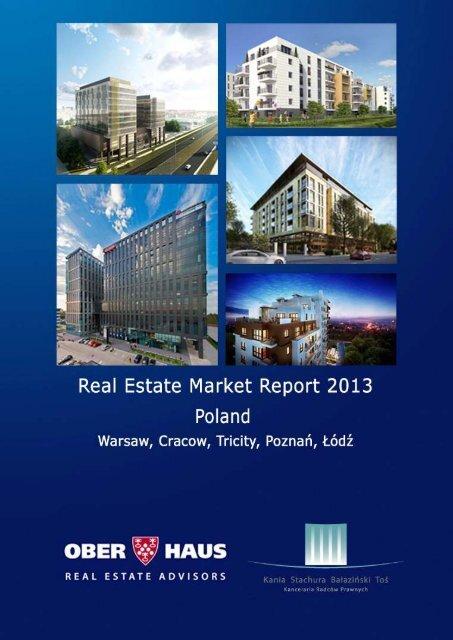 Ober-Haus Real Estate Annual Market Report 2013 Poland