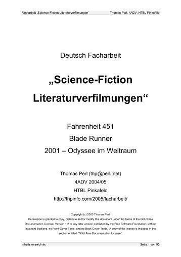 Facharbeit als PDF - Thomas Perl
