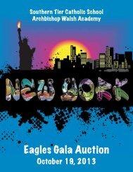 Eagles Gala Auction - Southern Tier Catholic School : Archbishop ...