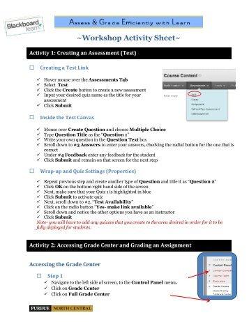 Download Assess and Grade workshop handouts