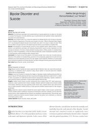 Bipolar Disorder and Suicide - Düşünen Adam