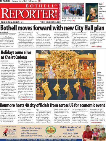 Bothell moves forward with new City Hall plan - Sound Classifieds