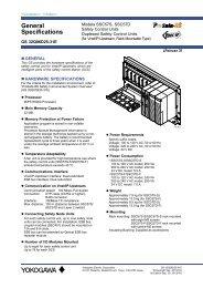 for Vnet/IP-Upstream, Rack Mountable Type - Yokogawa