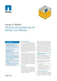 NetApp and VMware Windows Consolidation - Zift Solutions
