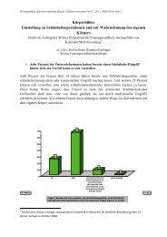 Umfrage - Frauengesundheit-Wien