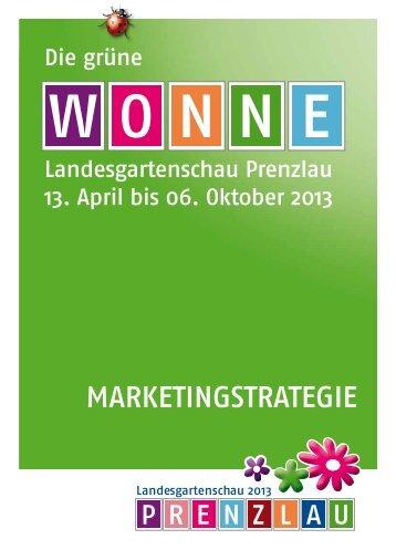 Marketingstrategie LAGA Prenzlau 2013 als pdf zum Download
