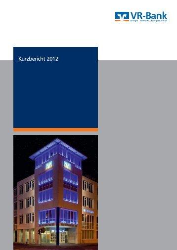 2012 - VR-Bank Erlangen-Höchstadt-Herzogenaurach eG