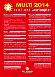 Spiel- und Gewinnplan (PDF) - Adp Gauselmann GmbH