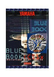 Yamaha BlueBook - klangmedium