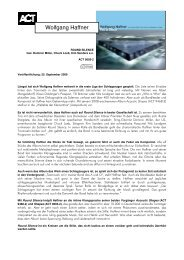 Wolfgang Haffner - ACT Music + Vision