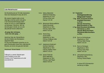 Wanderplan als pdf - TG Hofen