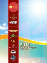1. 2011 Product Guide - Start Your Tanning Salon