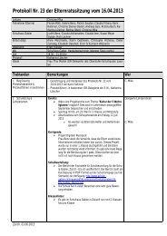 Protokoll 16. April 2013 (PDF) - Schule Gabler