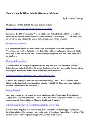Download Den Keiner Ist Ohne Schuld (German Edition) pdf ebooks ...
