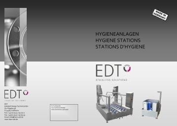 HYGIENEANLAGEN HYGIENE STATIONS STATIONS ... - Heim-edt.de