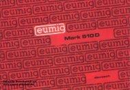 EUMIG Mark 510D.pdf - Super8-projektor.de