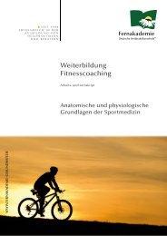 Anatomische und physiologische Grundlagen in der Sportmedizin