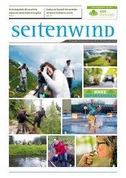 Hochschulzeitschrift Seitenwind_Herbst 2013_HNE Eberswalde