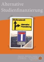 Alternative Studienfinanzierung - AStA der Beuth Hochschule